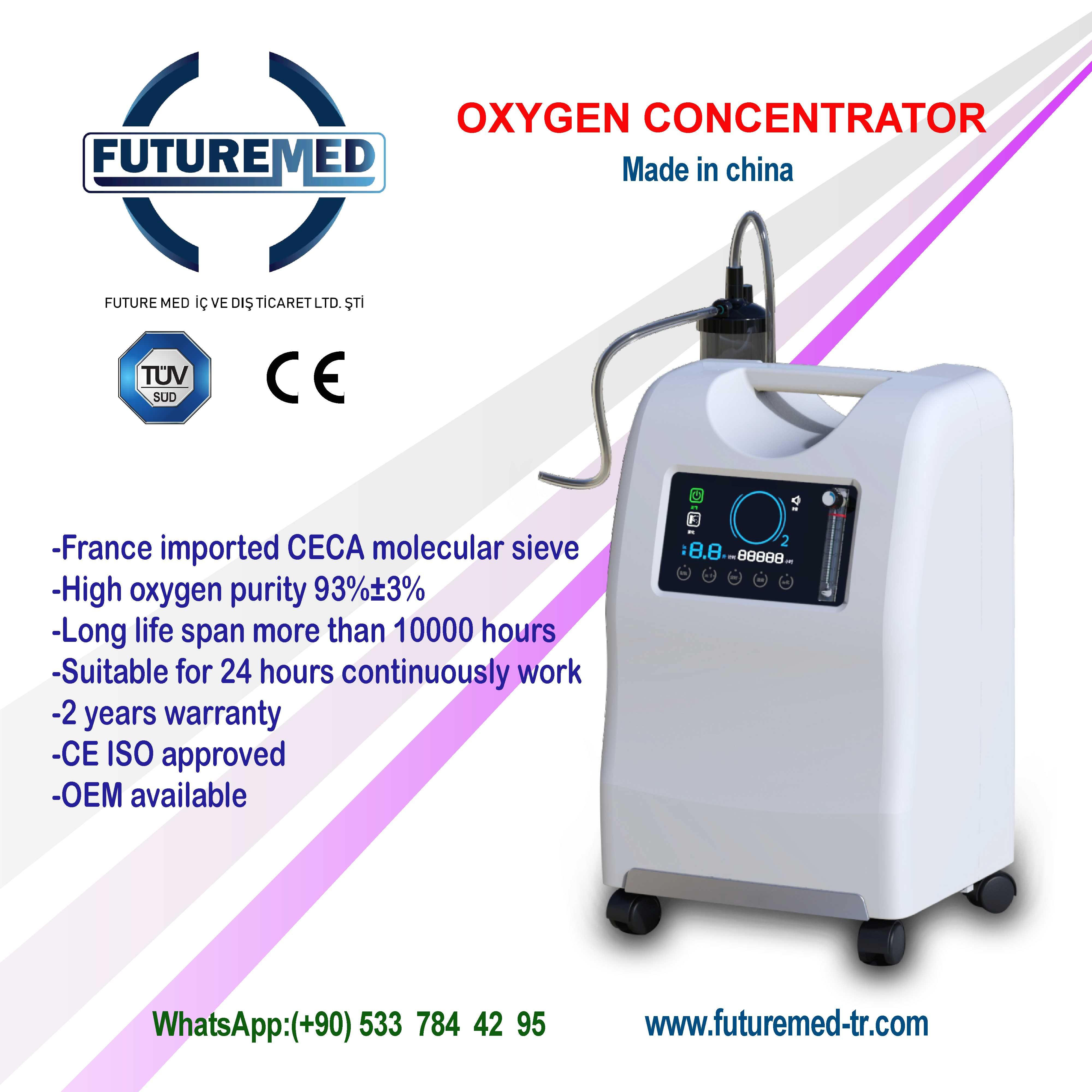 The arrival of 10-liter  Oxygen Generator combines high efficiency and low price.